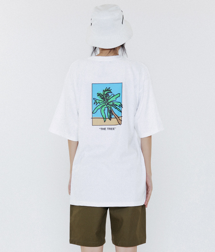 THINKTWICETHE TREE Graphic Print T-Shirt