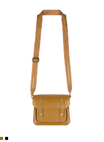 Flap Front Satchel Bag