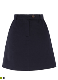 Basic Button Top Mini Skirt