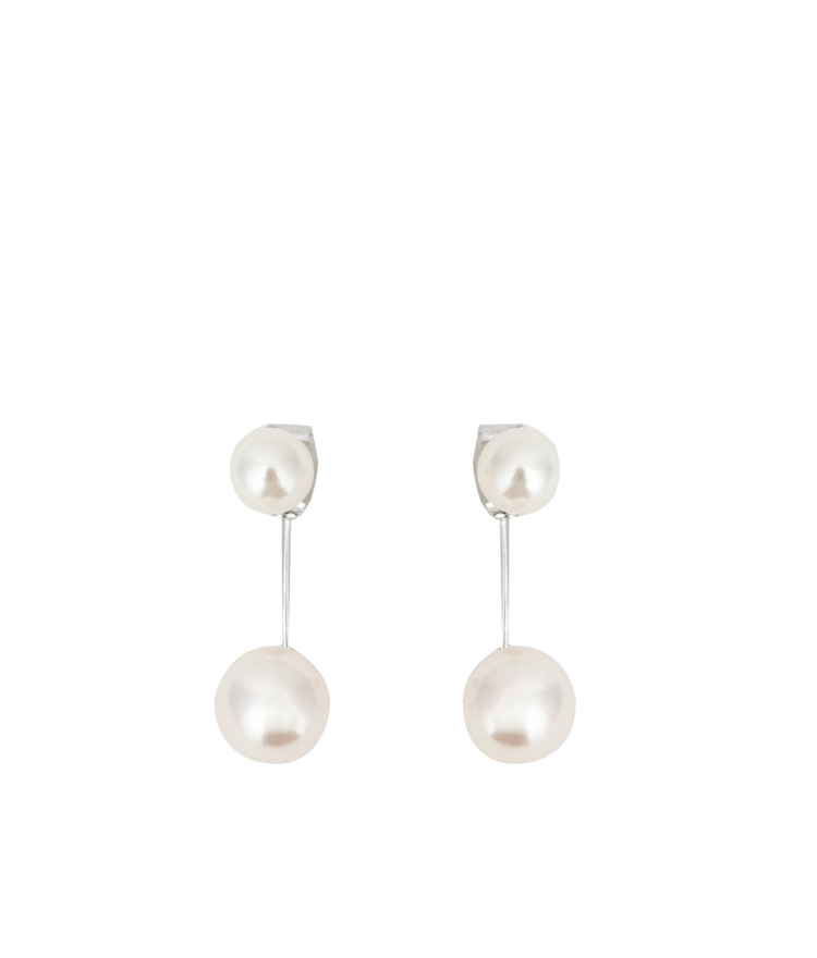 Drop Faux Pearl Earrings