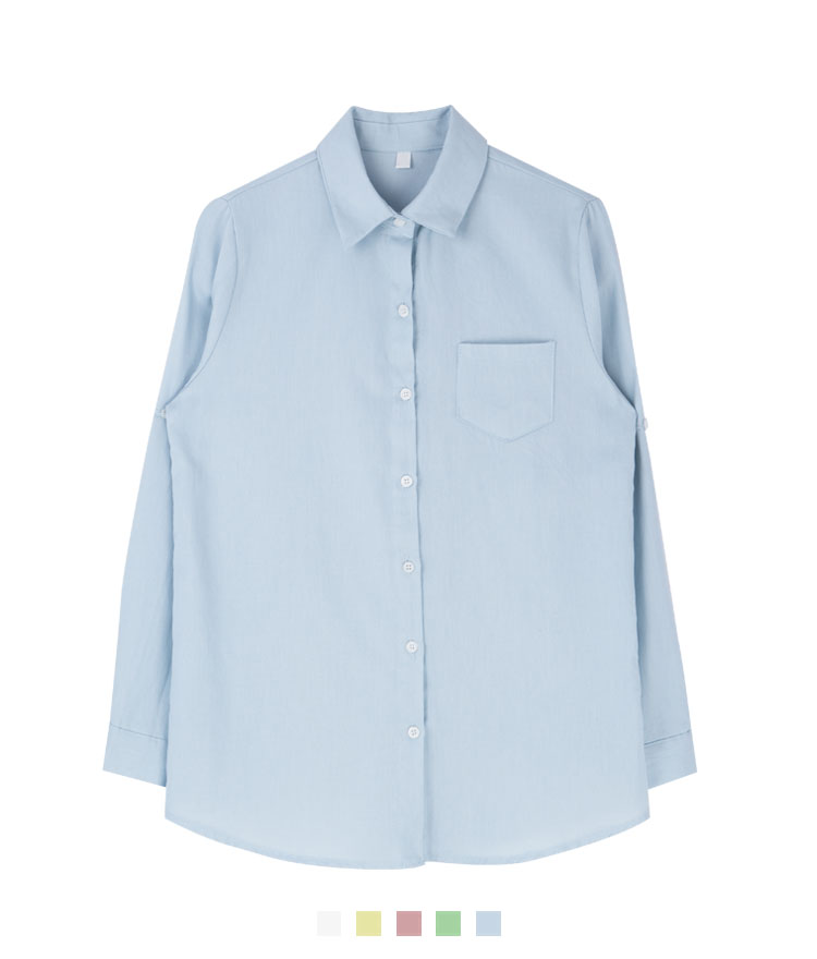Basic Point Collar Shirt