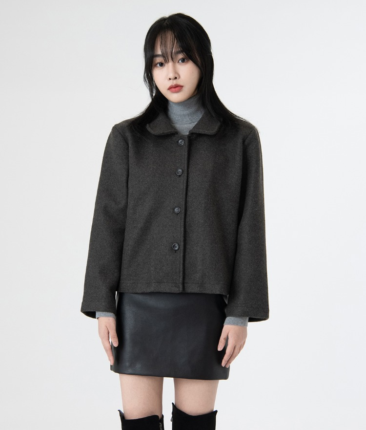 ESSAYButton-Front Boxy Jacket