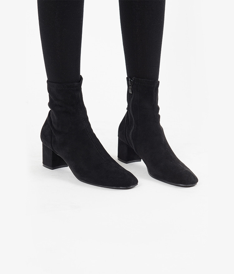 Rounded Square Toe Boots