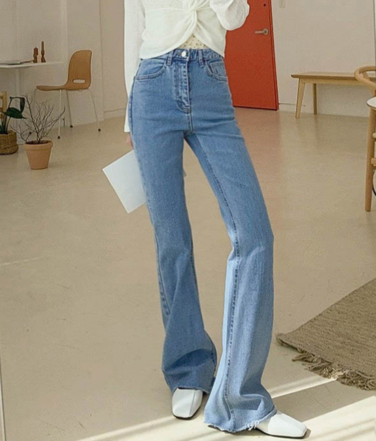ROMANTIC MUSEHigh Rise Bootcut Jeans