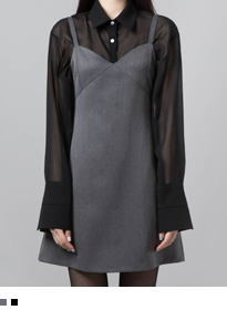 BAUHAUSSleeveless A-Line Dress