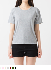 365BASICRegular Round Neck T-Shirt