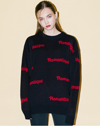 HIDE AND SEEKROMANTIQUE Knit Sweater