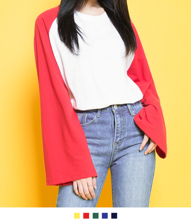 Extended Raglan Sleeve Top